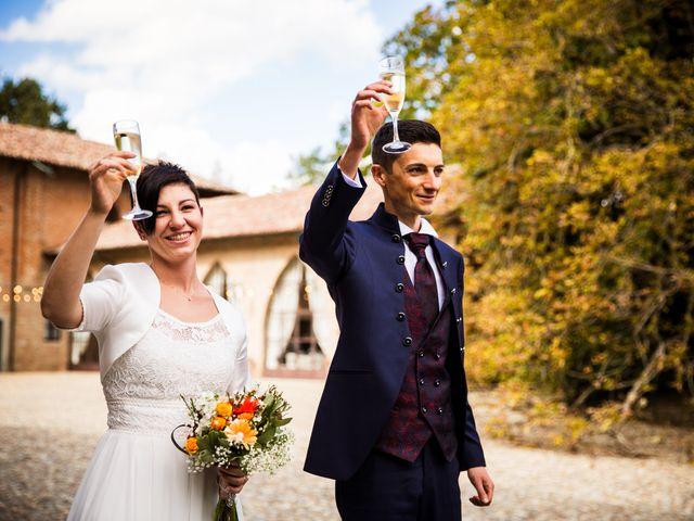 Il matrimonio di Andrea e Michela a Miradolo Terme, Pavia 37