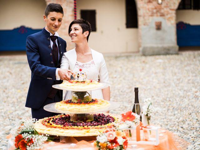 Il matrimonio di Andrea e Michela a Miradolo Terme, Pavia 60