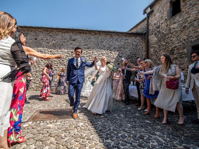 Il matrimonio di Chai e Alessandra a Pontremoli, Massa Carrara 36