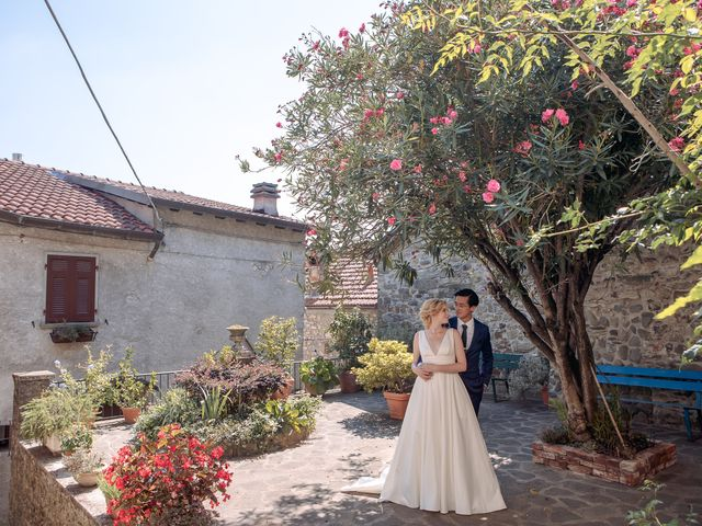 Il matrimonio di Chai e Alessandra a Pontremoli, Massa Carrara 44