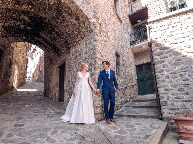 Il matrimonio di Chai e Alessandra a Pontremoli, Massa Carrara 50
