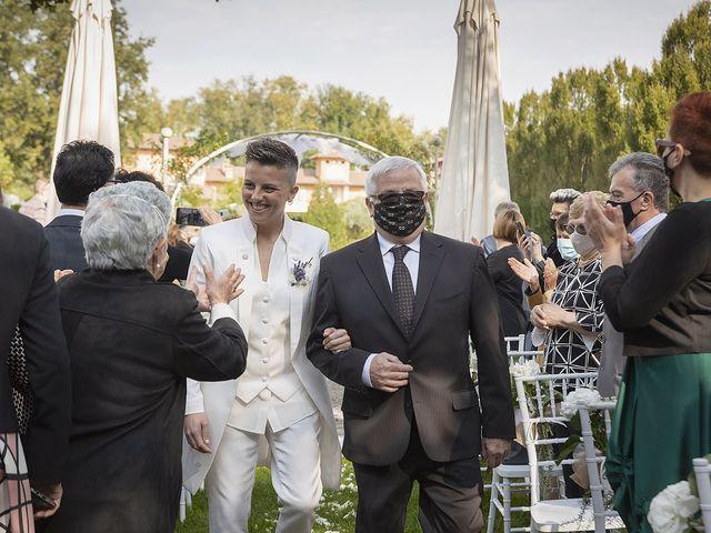 Il matrimonio di Michlea e Paola a Montichiari, Brescia 13