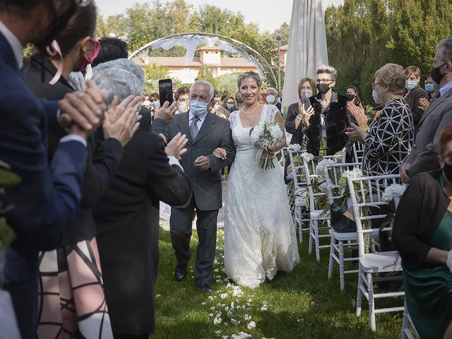Il matrimonio di Michlea e Paola a Montichiari, Brescia 14