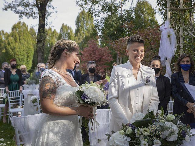 Il matrimonio di Michlea e Paola a Montichiari, Brescia 15