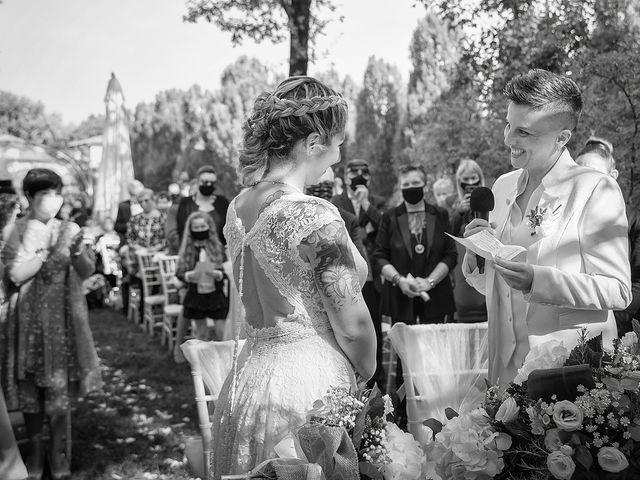 Il matrimonio di Michlea e Paola a Montichiari, Brescia 17