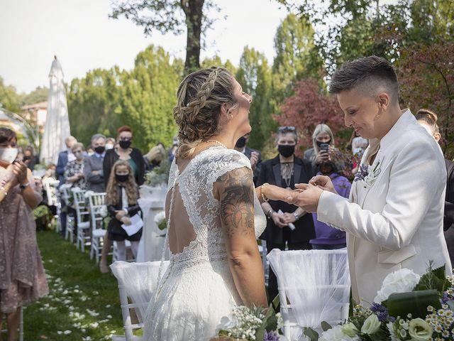 Il matrimonio di Michlea e Paola a Montichiari, Brescia 18