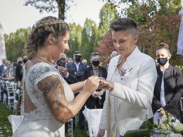 Il matrimonio di Michlea e Paola a Montichiari, Brescia 20