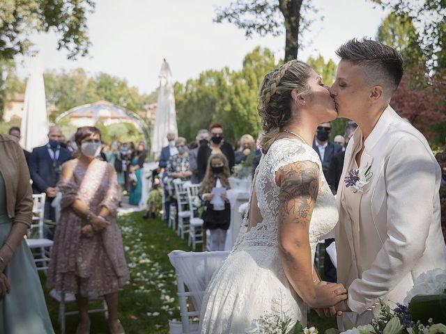 Il matrimonio di Michlea e Paola a Montichiari, Brescia 21