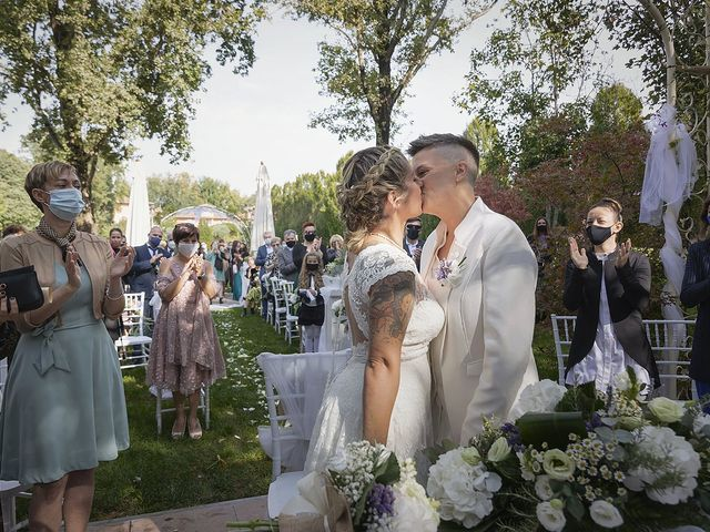 Il matrimonio di Michlea e Paola a Montichiari, Brescia 22