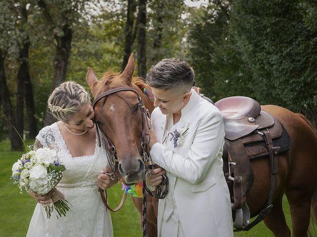 Il matrimonio di Michlea e Paola a Montichiari, Brescia 29