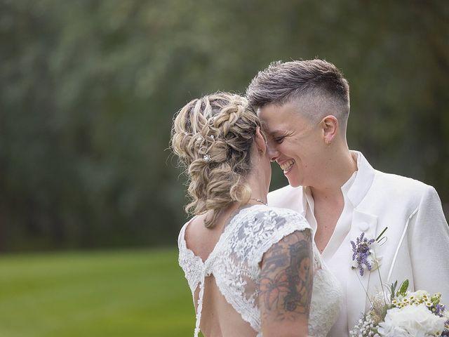 Il matrimonio di Michlea e Paola a Montichiari, Brescia 31