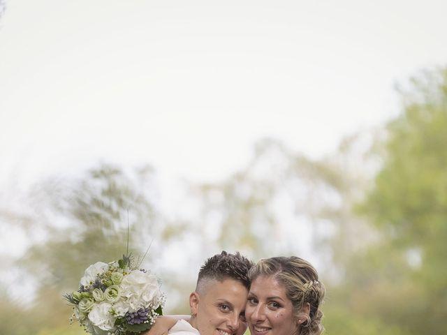 Il matrimonio di Michlea e Paola a Montichiari, Brescia 33