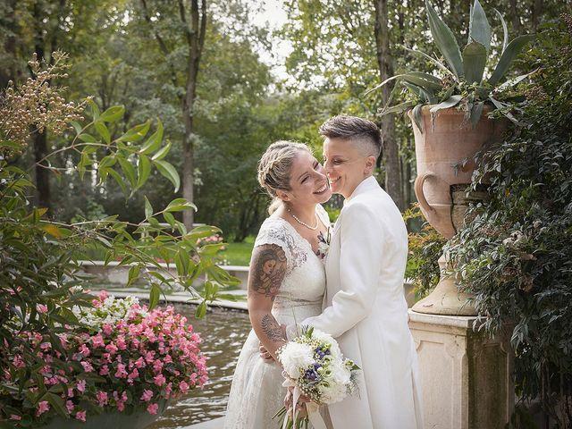 Il matrimonio di Michlea e Paola a Montichiari, Brescia 34