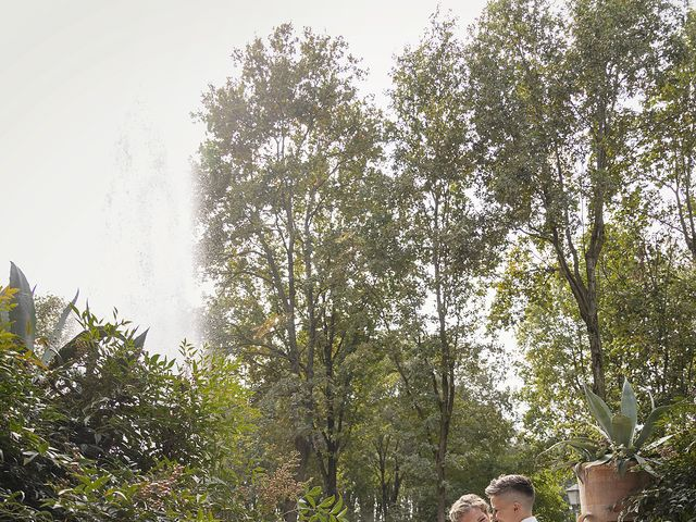 Il matrimonio di Michlea e Paola a Montichiari, Brescia 35