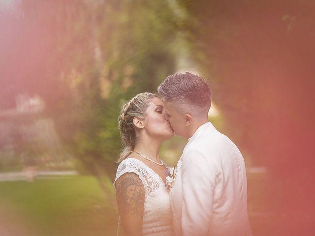 Il matrimonio di Michlea e Paola a Montichiari, Brescia 36