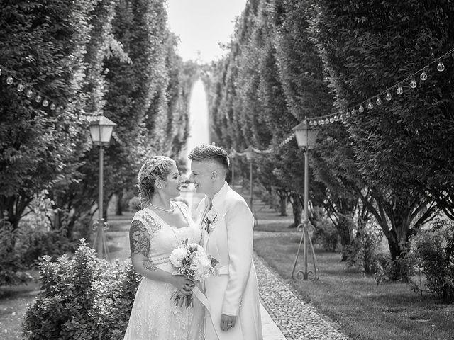 Il matrimonio di Michlea e Paola a Montichiari, Brescia 39