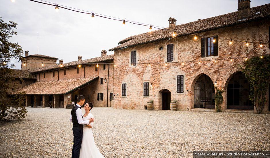 Il matrimonio di Andrea e Michela a Miradolo Terme, Pavia