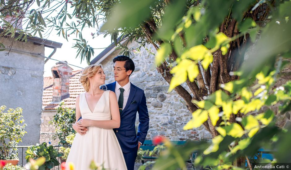 Il matrimonio di Chai e Alessandra a Pontremoli, Massa Carrara