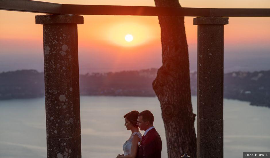 Il matrimonio di Giorgio e Roberta a Roma, Roma