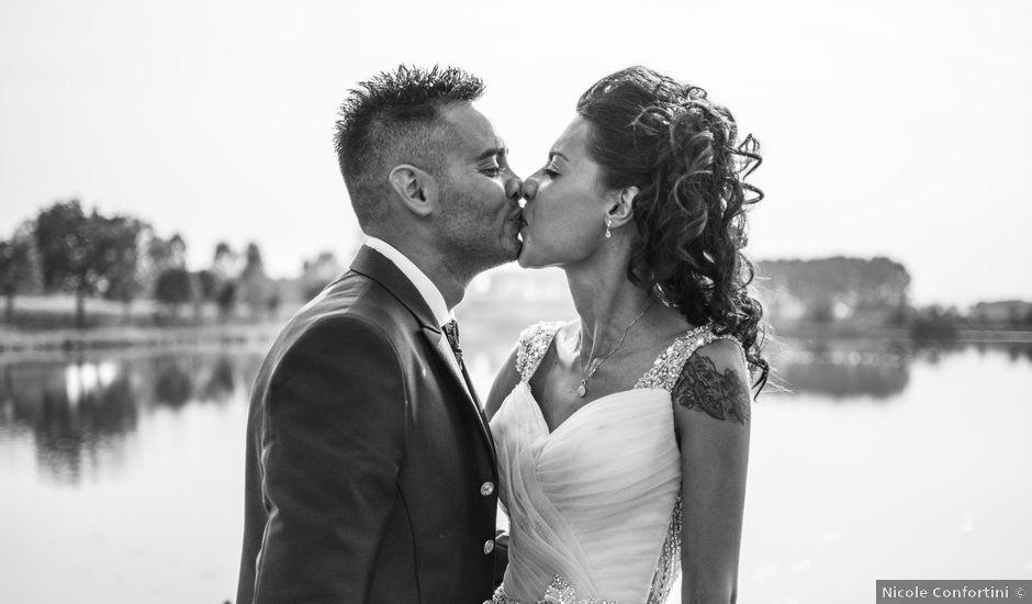 Il matrimonio di Stefano e Naemi a Salvirola, Cremona