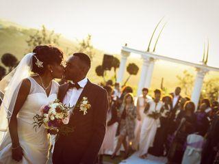 Le nozze di Leslie e Patou