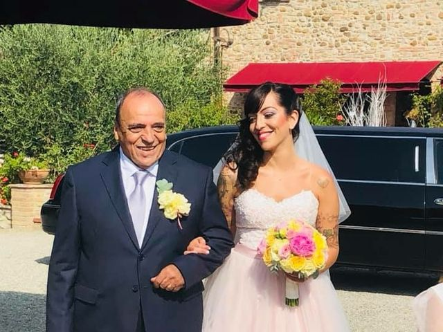 Il matrimonio di Claudio e Tamara a Lajatico, Pisa 1
