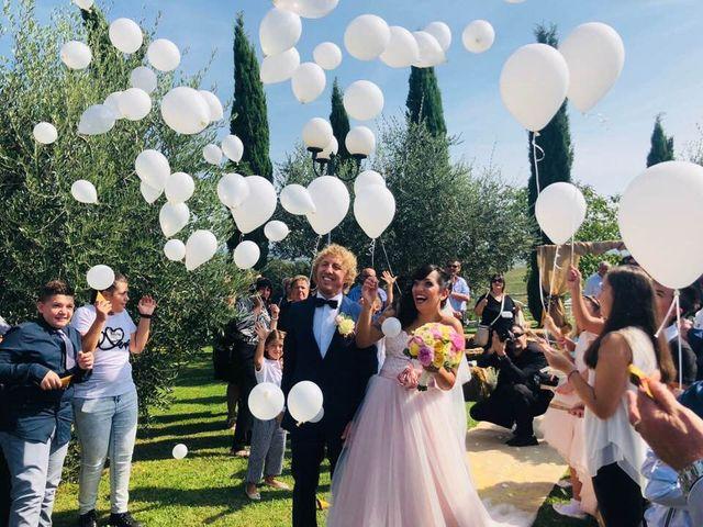 Il matrimonio di Claudio e Tamara a Lajatico, Pisa 3