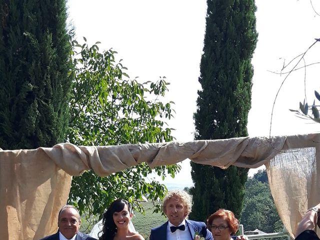 Il matrimonio di Claudio e Tamara a Lajatico, Pisa 6