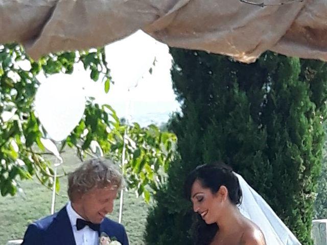 Il matrimonio di Claudio e Tamara a Lajatico, Pisa 7