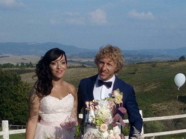 Il matrimonio di Claudio e Tamara a Lajatico, Pisa 11