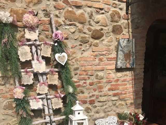 Il matrimonio di Claudio e Tamara a Lajatico, Pisa 12