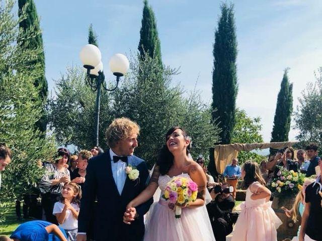 Il matrimonio di Claudio e Tamara a Lajatico, Pisa 15
