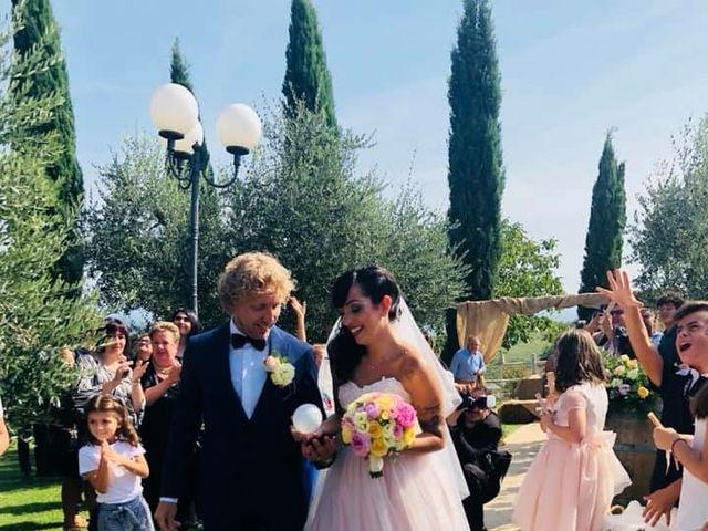 Il matrimonio di Claudio e Tamara a Lajatico, Pisa 18