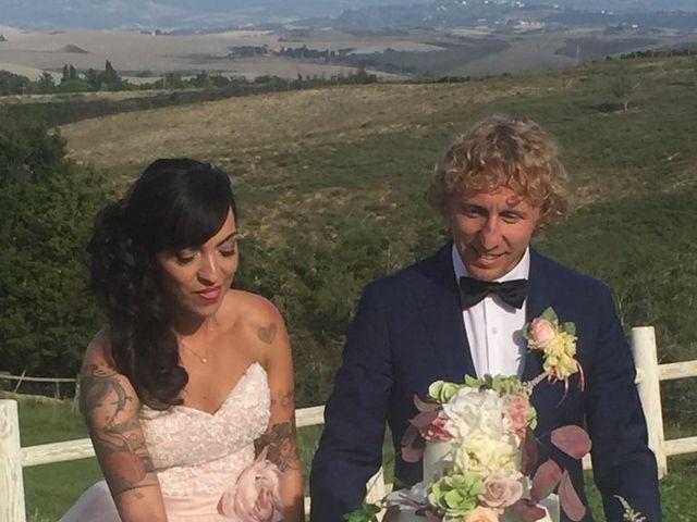 Il matrimonio di Claudio e Tamara a Lajatico, Pisa 26