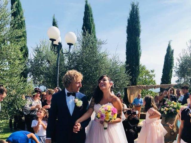 Il matrimonio di Claudio e Tamara a Lajatico, Pisa 34