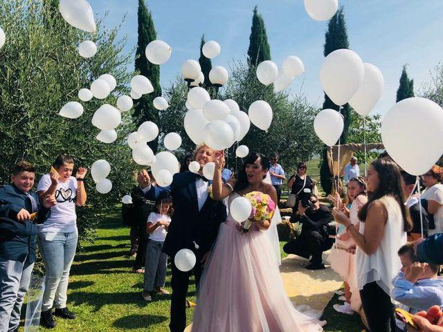 Il matrimonio di Claudio e Tamara a Lajatico, Pisa 38