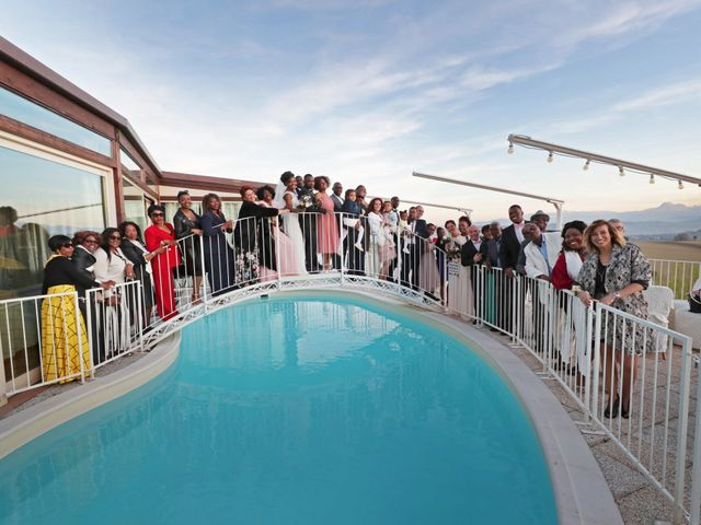 Il matrimonio di Patou e Leslie a Monteprandone, Ascoli Piceno 36