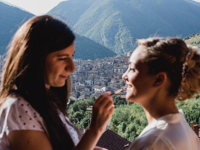 Il matrimonio di Carlo e Ludovica a Scanno, L'Aquila 48