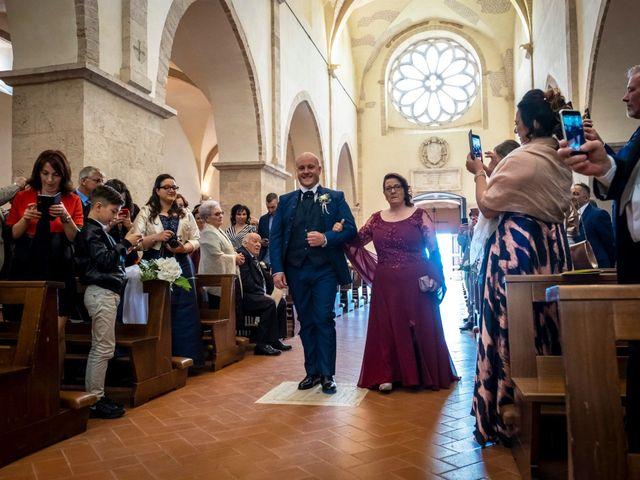 Il matrimonio di Marco e Francesca a Sermoneta, Latina 29