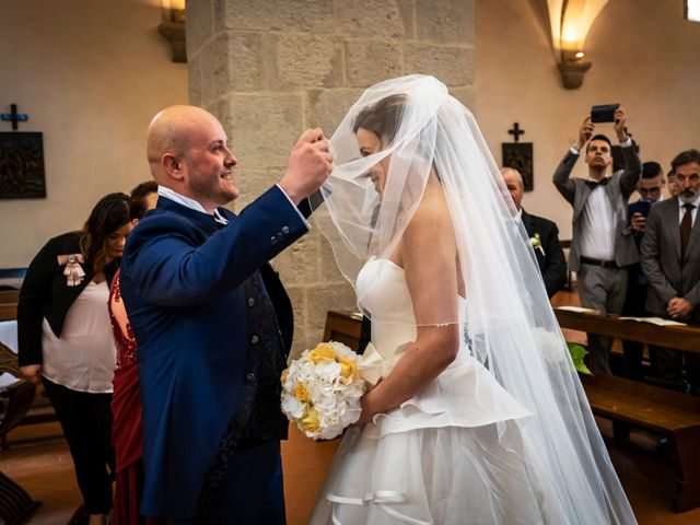 Il matrimonio di Marco e Francesca a Sermoneta, Latina 33