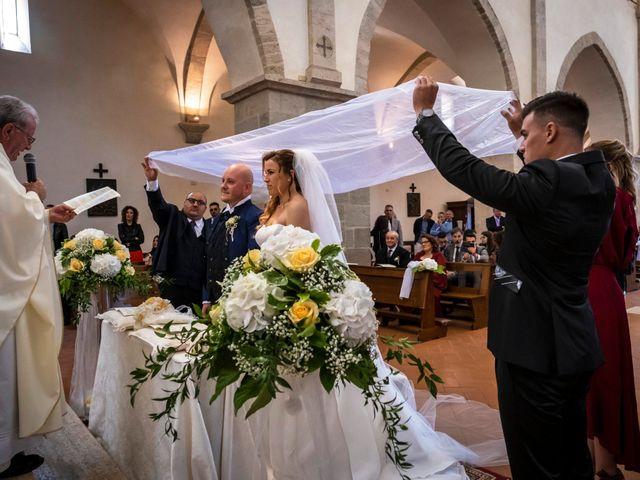 Il matrimonio di Marco e Francesca a Sermoneta, Latina 41