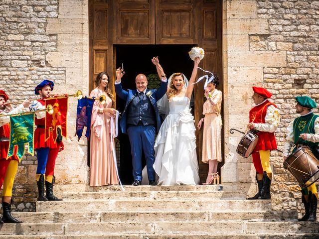 Il matrimonio di Marco e Francesca a Sermoneta, Latina 43