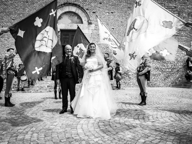Il matrimonio di Marco e Francesca a Sermoneta, Latina 44
