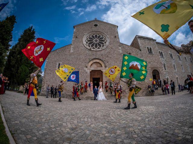 Il matrimonio di Marco e Francesca a Sermoneta, Latina 45