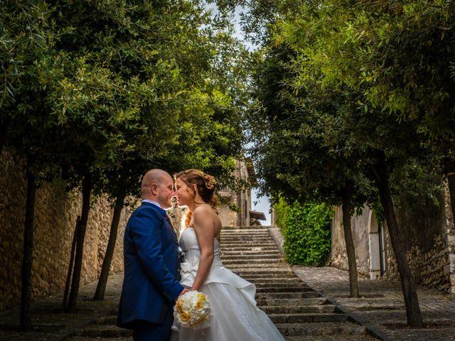 Il matrimonio di Marco e Francesca a Sermoneta, Latina 56