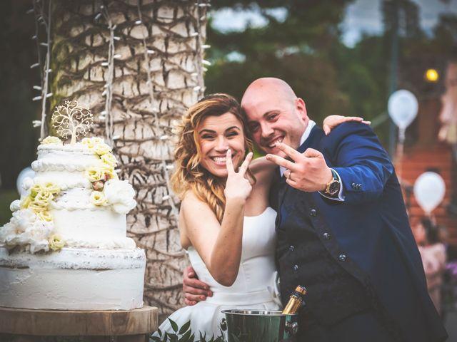 Il matrimonio di Marco e Francesca a Sermoneta, Latina 77