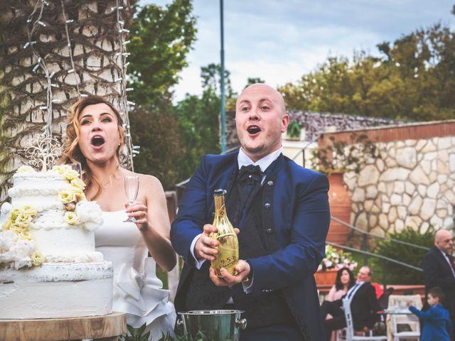 Il matrimonio di Marco e Francesca a Sermoneta, Latina 78
