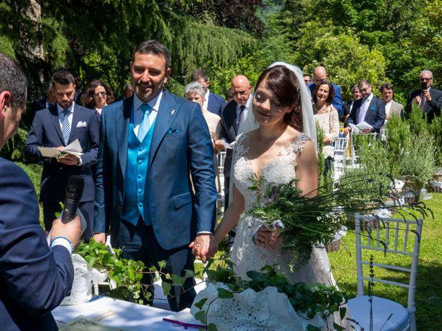 Il matrimonio di Luca e Linda a Erba, Como 10