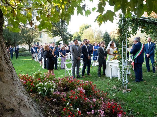 Il matrimonio di Simone e Marta a Cassinetta di Lugagnano, Milano 22