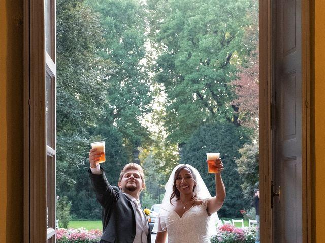 Il matrimonio di Simone e Marta a Cassinetta di Lugagnano, Milano 34